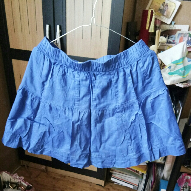 Blue Flare Skirt OLD NAVY