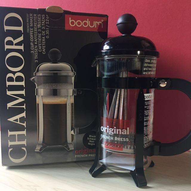 Bodum Chambord 3-cups coffee maker