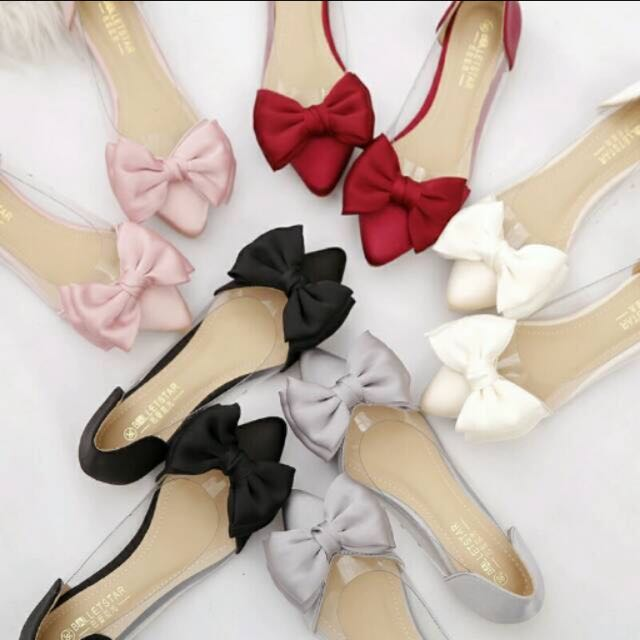 bow shoes •black only•