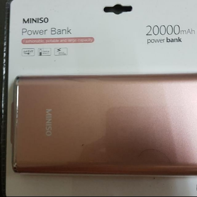 Brand Nee Miniso Power Bank 20000mah 1 Yr Warranty Mobile Phones