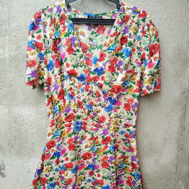 Branded Floral Dress