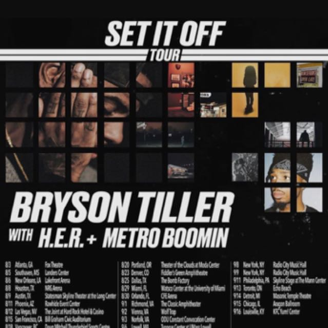 Bryson Tiller Tickets