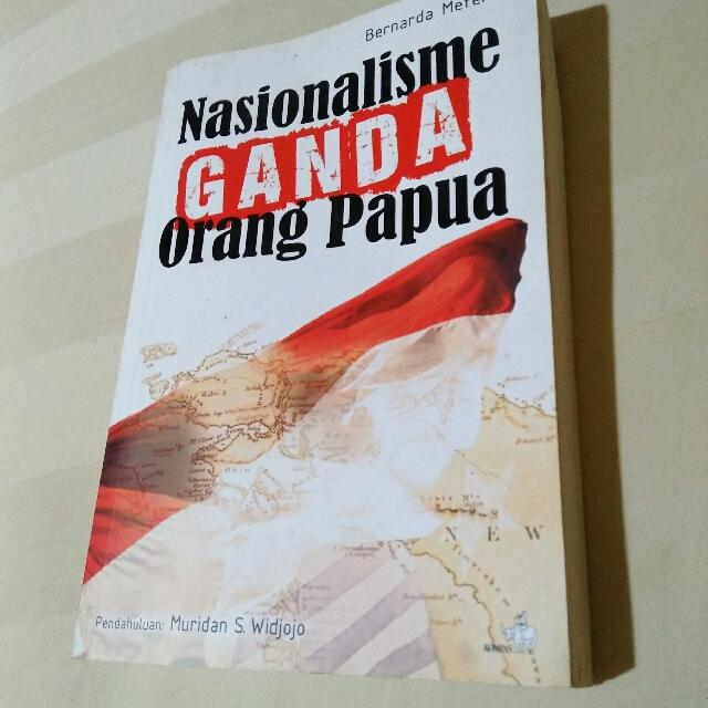 Buku Nasionalisme Ganda Orang Papua