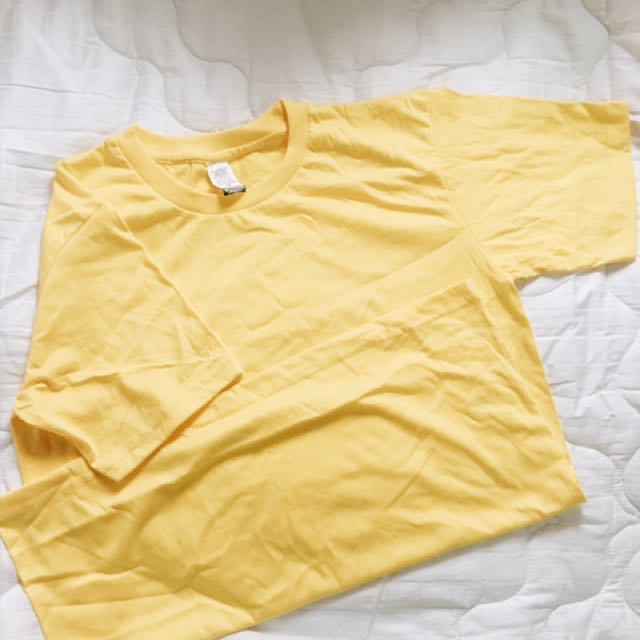 Canary yellow shirt (4pcs)