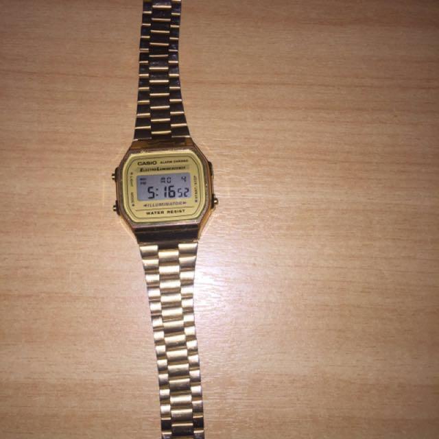 Casio Gold Digital Watch