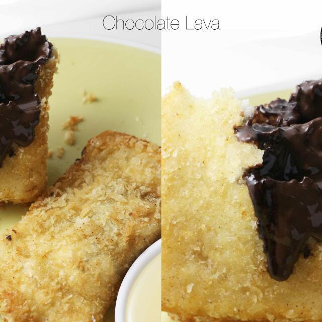 Choco Lava Sandwich Goreng