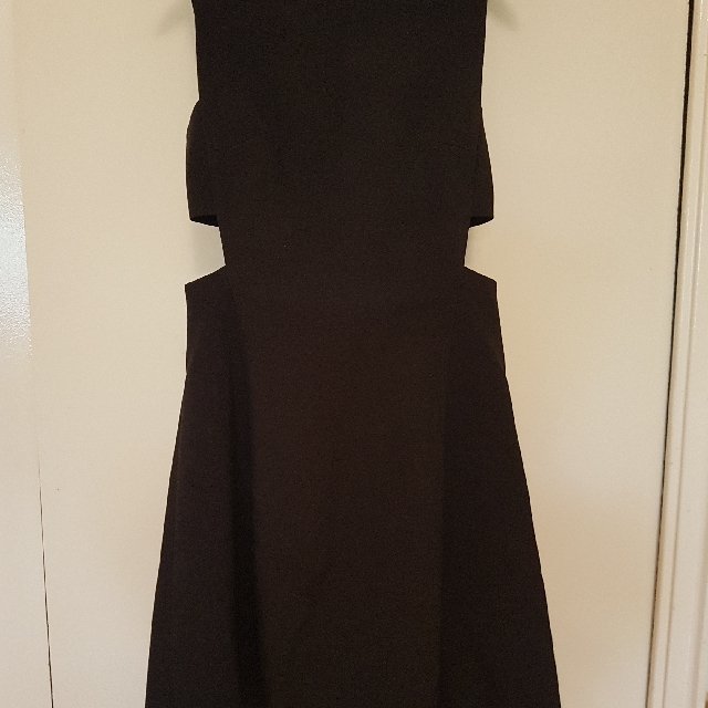 Club Monaco Cut Out Dress xs