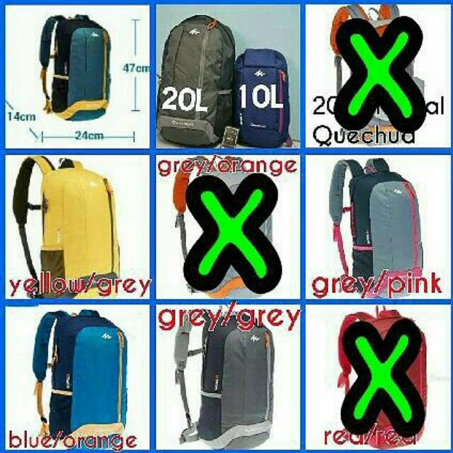 3f64fdeb9579 decathlon quechua arpenaz 20l, Everything Else, Others on Carousell