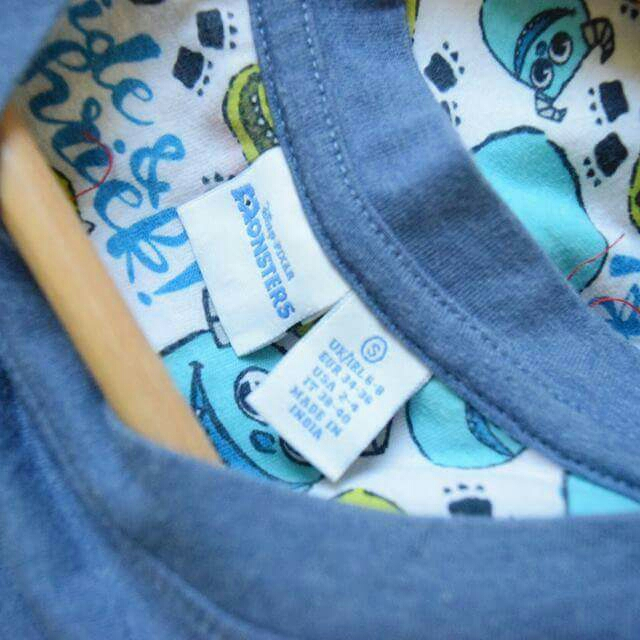 DISNEY PIXAR Monsters Inc. Pajamas