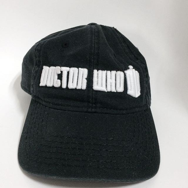 DoctorWho 黑色帽子老帽鴨舌帽