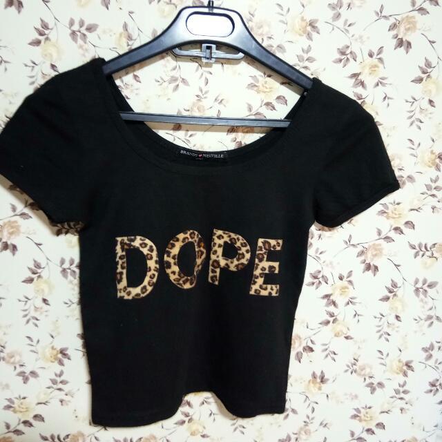 Dope Crop Top Shirt