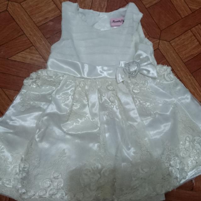 Elegant Baptismal Dress