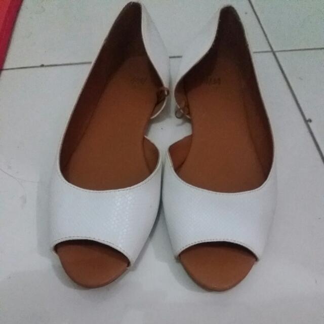 Flat Shoes White H&M