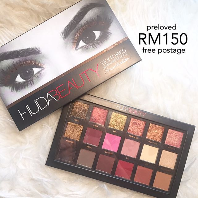 Free post Huda Beauty Rosegold Eyeshadows Palette