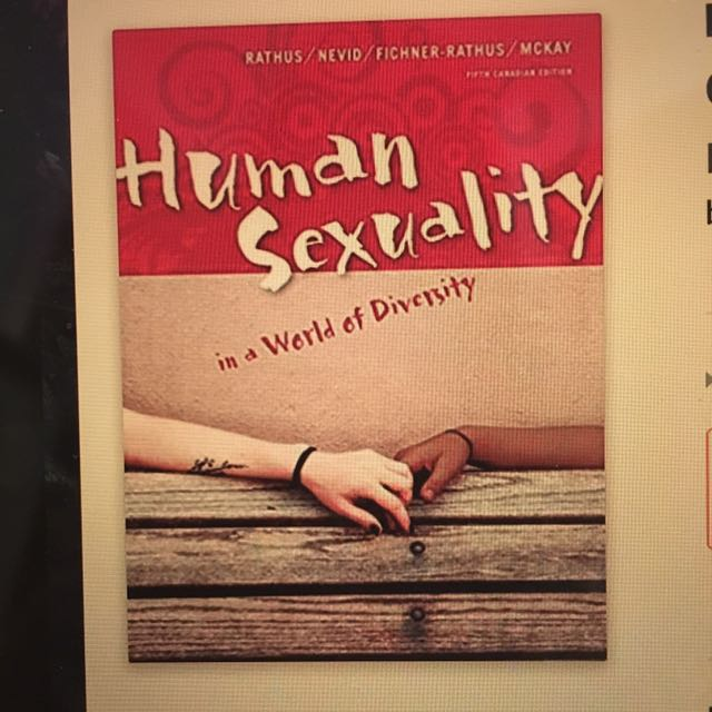 FRHD*2100 - Human Sexuality Textbook