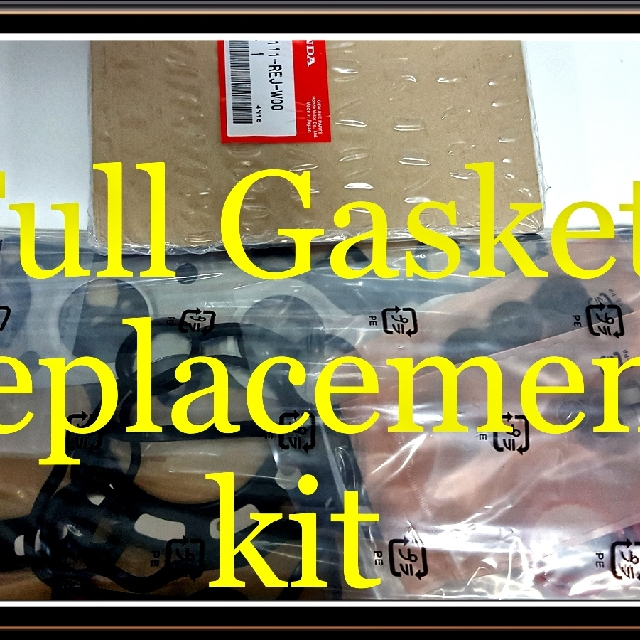 Full Gasket Replacement Kit (Sample as shown is for Honda Fit GD1)