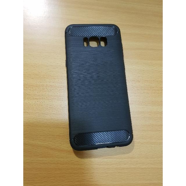 Galaxy s8 髮絲質感手機殼 全新