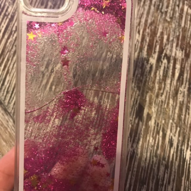 Glitter phone cover for iPhone 5
