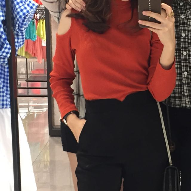 H&m Cut Out Top