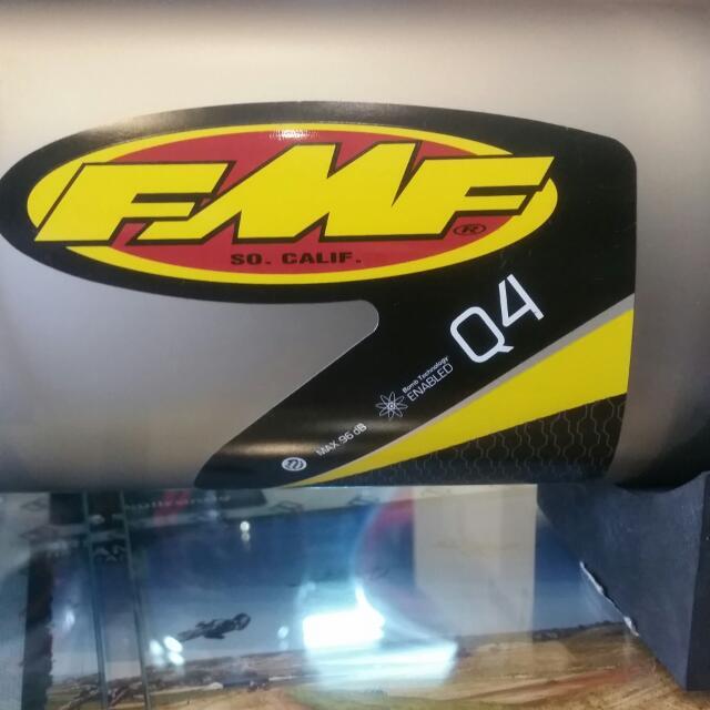 HONDA XR 400 FMF MUFFLER ( FMF Q4 SPARK ARRESTOR ) YEAR 96