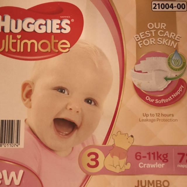 Huggies Ultimate / 6-11 kg / 72