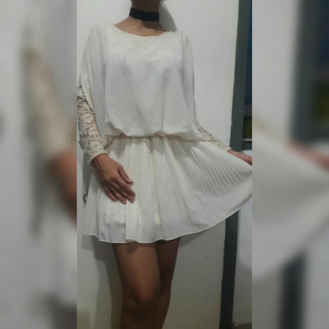 Korean Lace Long Top/dress