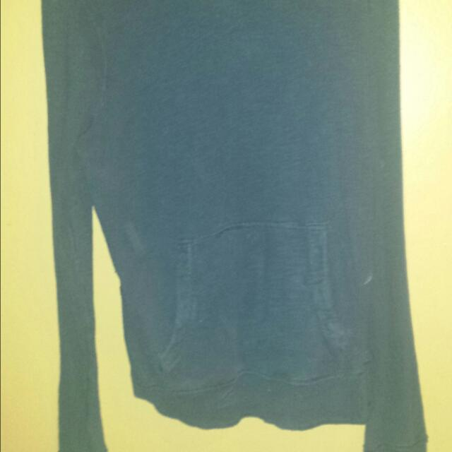 Ladies Navy Blue Hollister Sweater XL