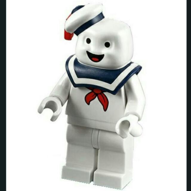 LEGO Stay Puft Bibendum Chamallow Minifigure Ghost Busters