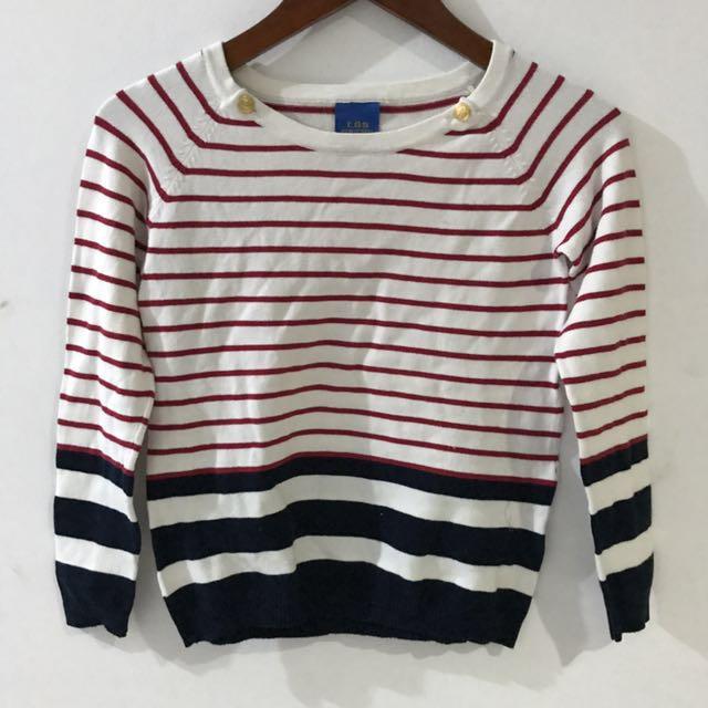 [L'GS] Striped sweater