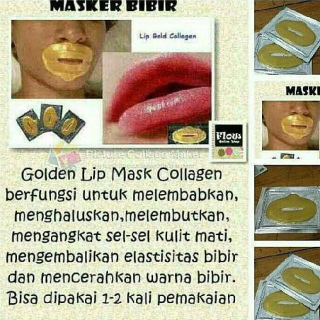 LIP MASK (MASKER BIBIR)