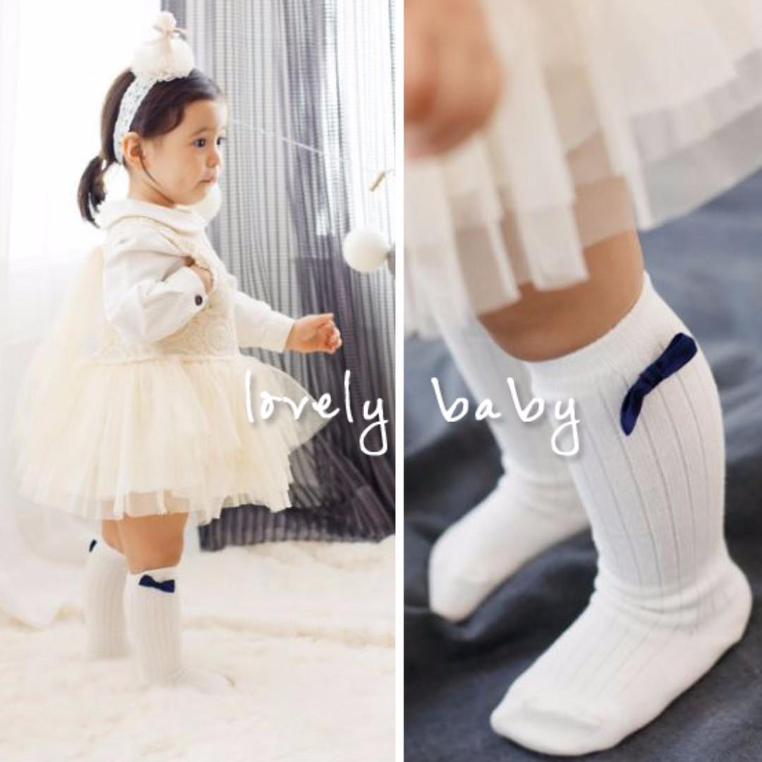 Lovelybaby✨ 韓國兒童高筒公主襪嬰幼兒寶寶長統襪子 女童 寶寶襪子【現貨】 #HW-S17