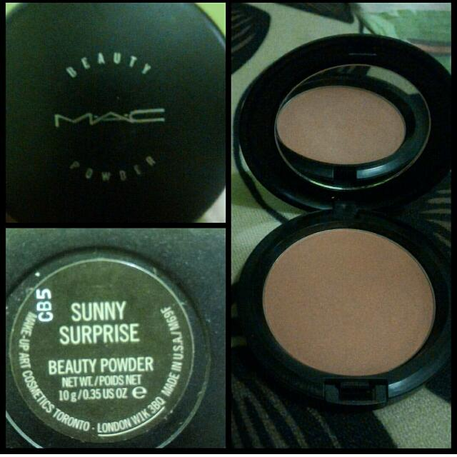 MAC Sunny Surprise beauty powder