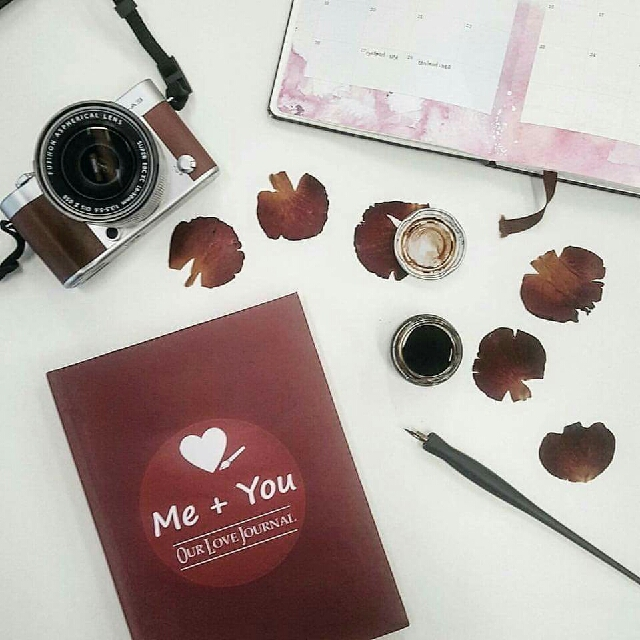Me + You Couple Journal