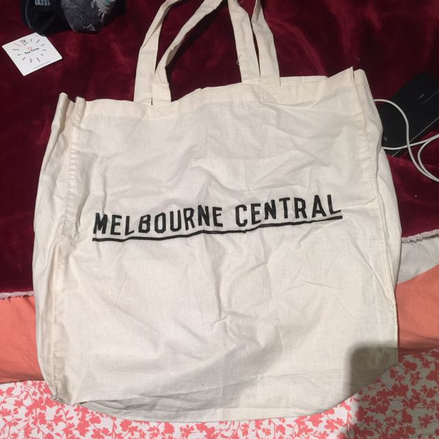 Melbourne central tote bag