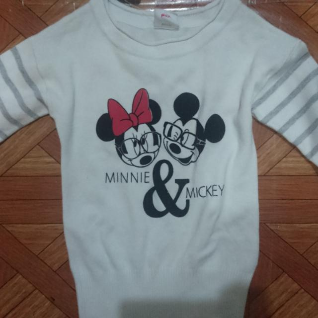 Minnie N Mickey Cardigan
