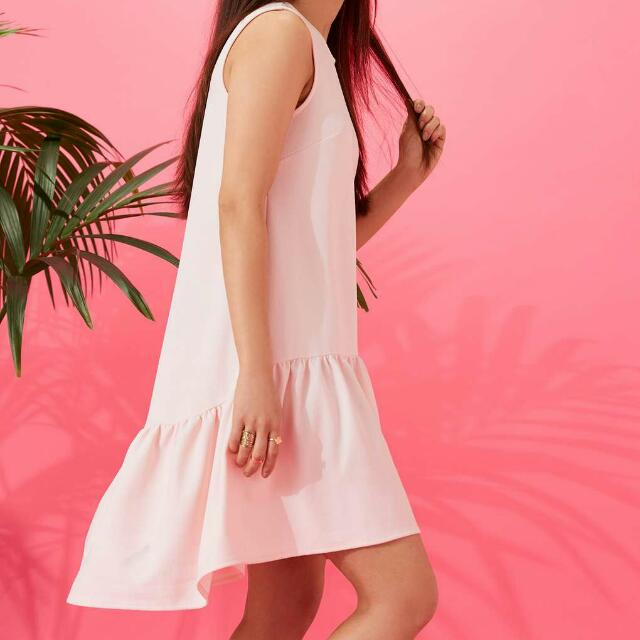 Miss Selfridge Sleeveless High Low Dress