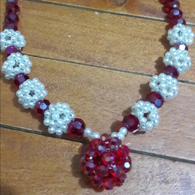 neacklace and bracelet