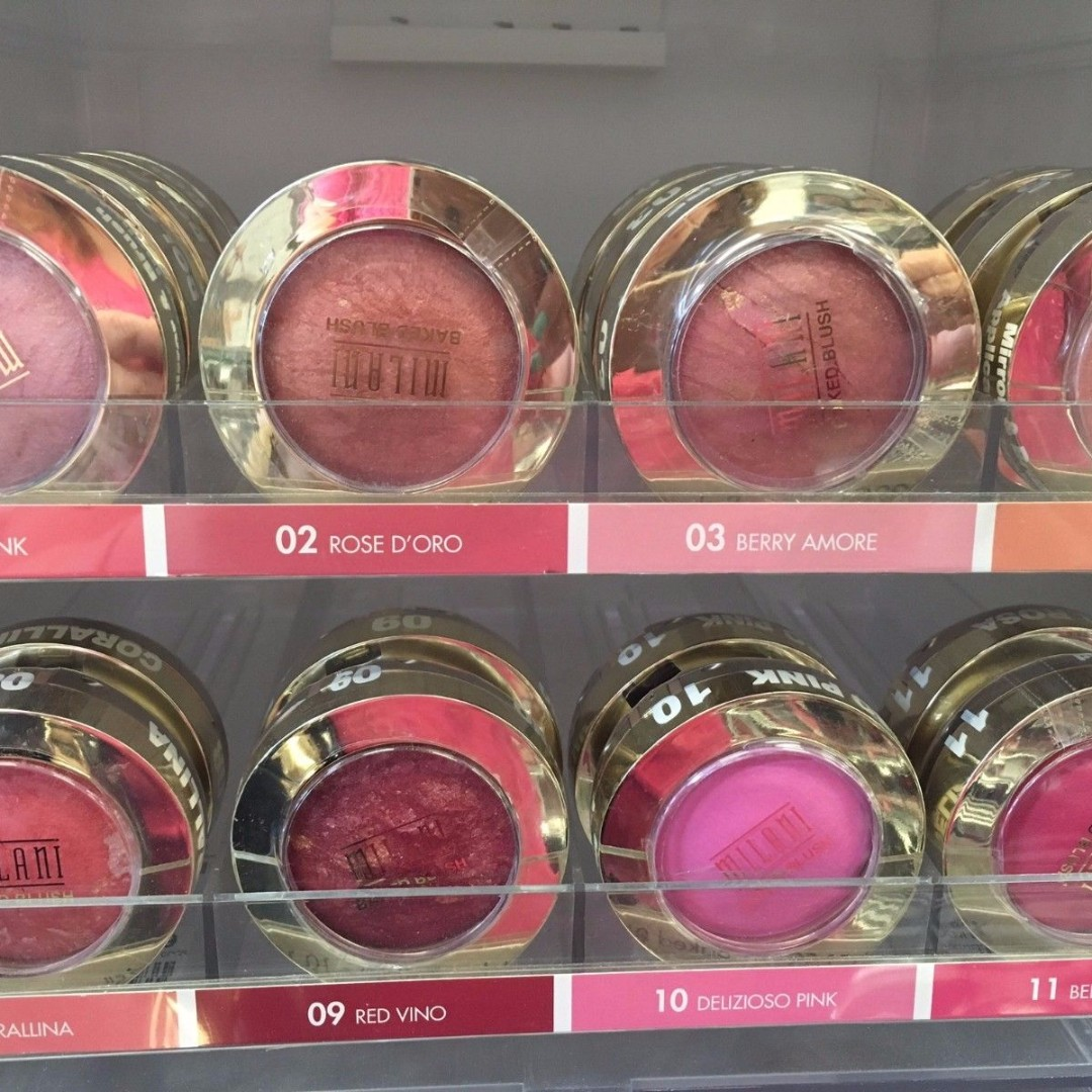 NEW Milani Baked Blush With Mirror & Brush, You Choose!