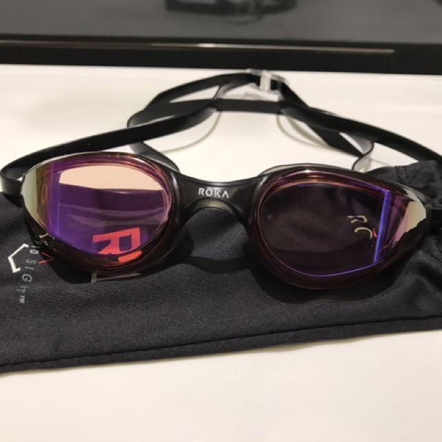 e692d24db7e NEW Rola R1 Goggle Dark Vermilion Mirror -  60
