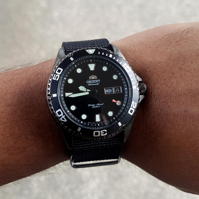 Orient Ray Raven 2 Men S Fashion Watches On Carousell