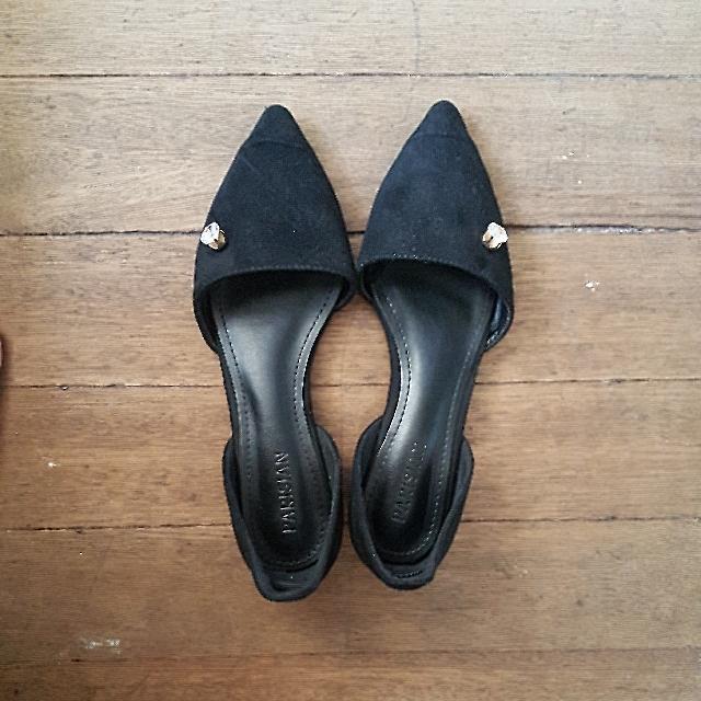 Parisian Black Sandals