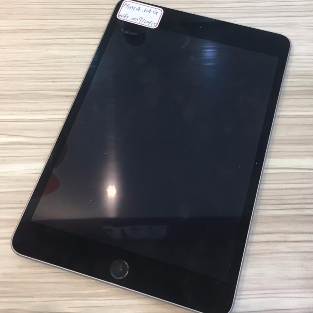 【鏢Phone】Apple iPad mini 4 Wi-Fi 64GB 保固至2017年12月10日 單平板 歡迎面交