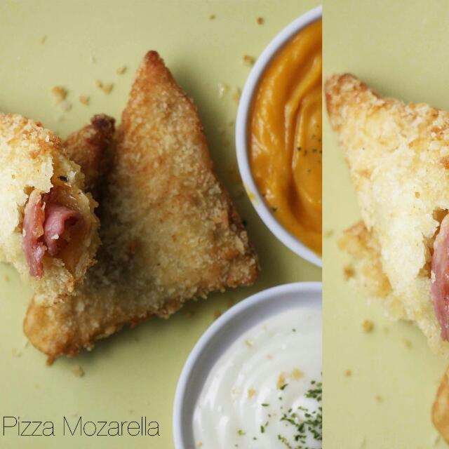 Pizza Mozarella Sandwich Goreng