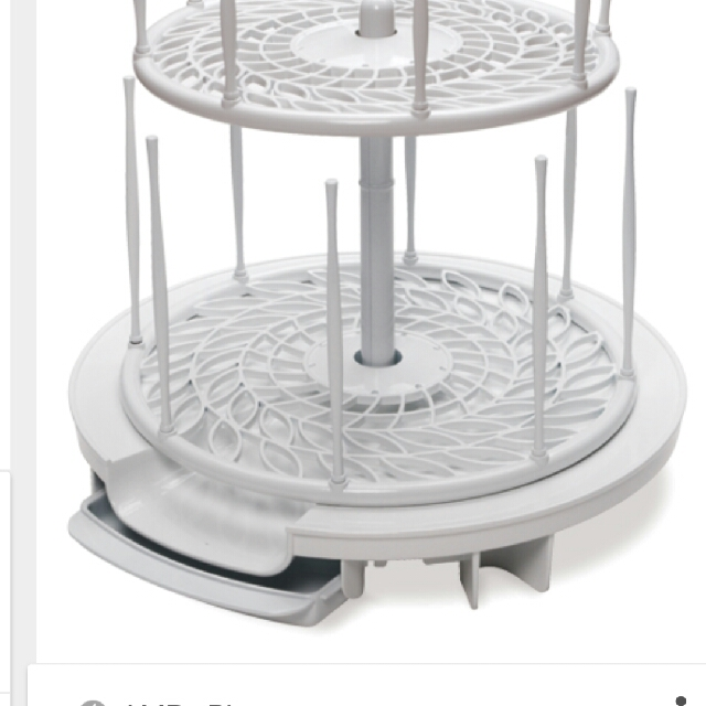 PL first years spinning drying rack bottle