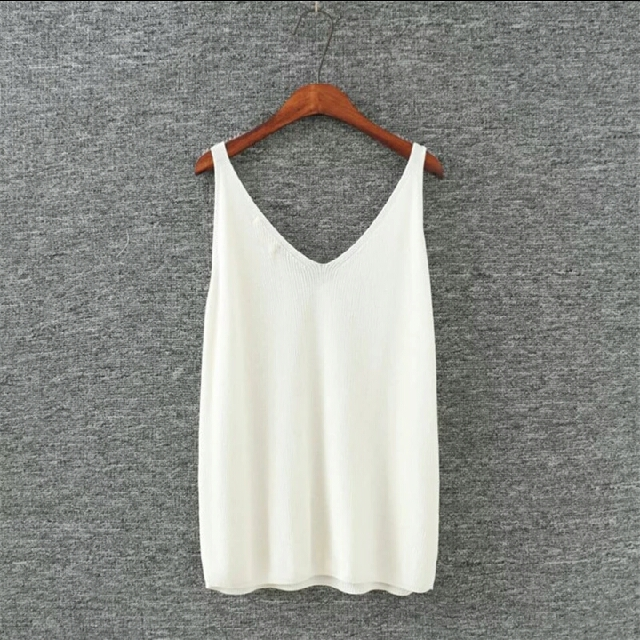 POSTAGE INCL. #topshop Summer Style #Tank Loose #Knitted #Singlet #Top #Vest. #size 10- #size12