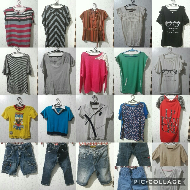Preloved blouse for women and kids