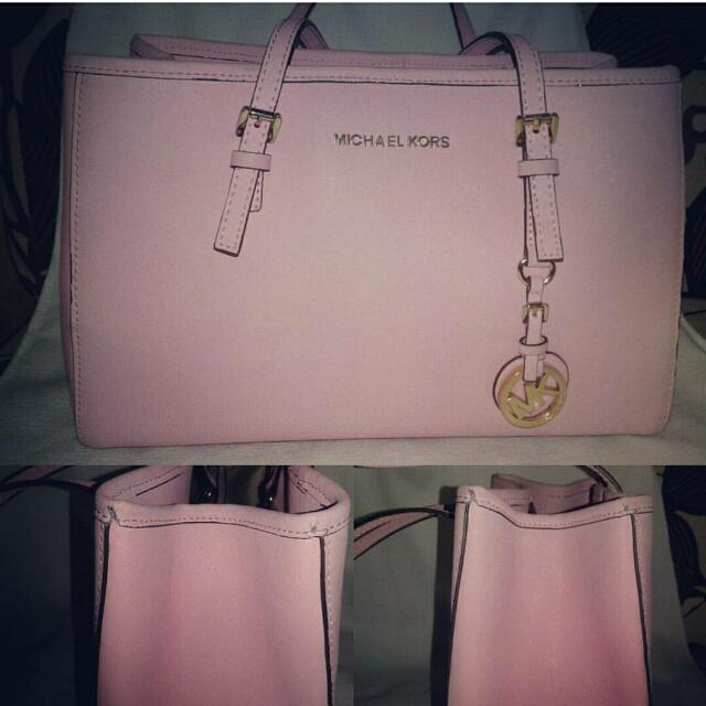 Preloved MK Handbag in Pink