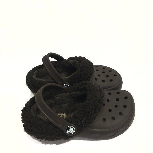 56e409a611 PRICE REDUCED! 💯% Authentic Crocs Mammoth Evo Clog, Babies & Kids ...