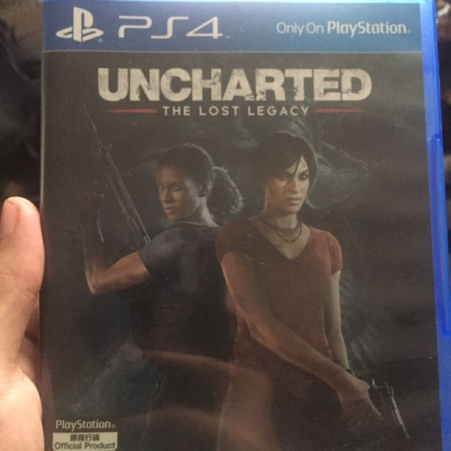 PS4 Game Uncharted The Lost Legacy