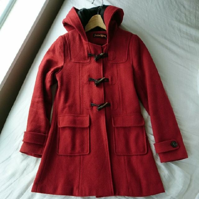 Red Toggle Peacoat Xs